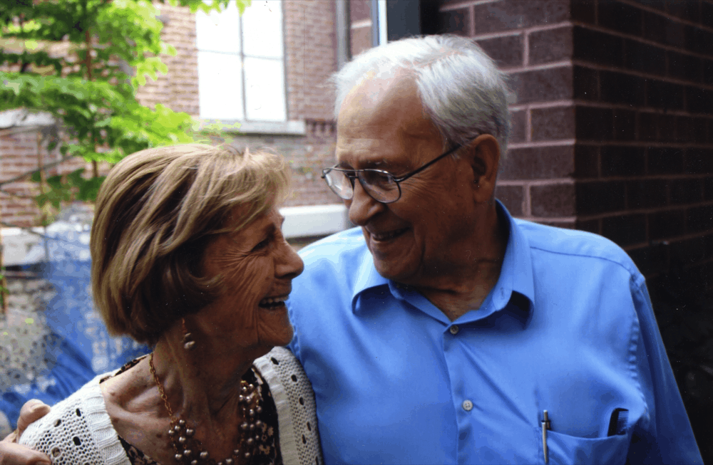 Founders Rex and Lorabel Wildman