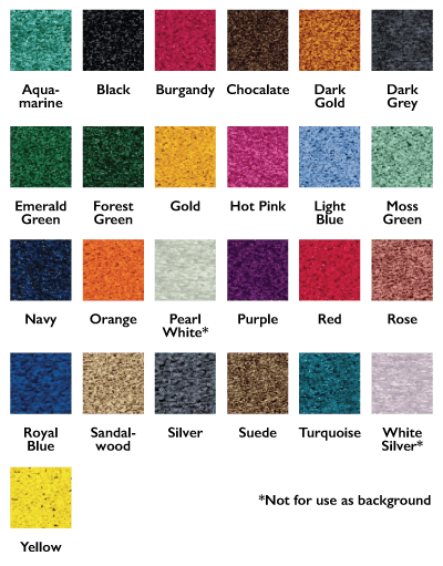 Executive Floor Mat Swatches