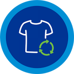 garment recycling icon