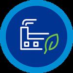 green emissions icon