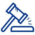 lawsuit judgement icon