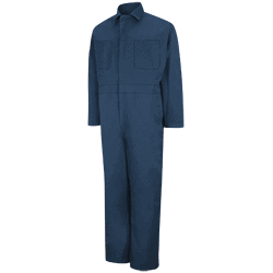 Twill Action Back Coverall w/ Chest Pockets
