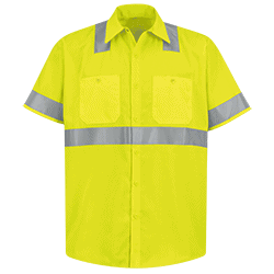 Hi-Visibility Work Shirt (SS) - Type R, Class 2